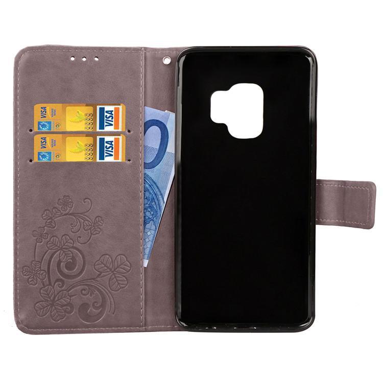 Samsung Galaxy S9Samsung Galaxy S9 ケース ギャラクシー S9 ケース SC-02K/SCV38 docomo au サンスム スマホケース 手帳型 カード収納 ストラップ付き はな