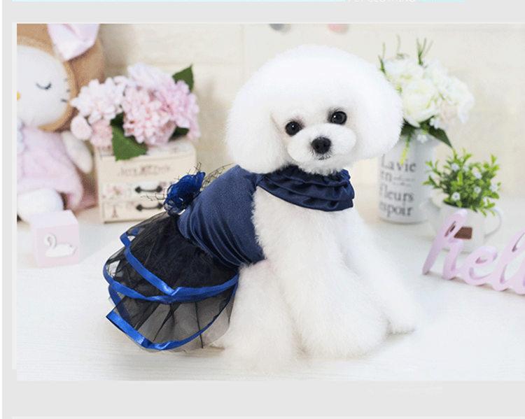 犬の服 スカート ドッグウエア ペット用品 ペッド服 ペットグッズ 春 夏 新作 犬服 上品 ゴージャス ひらひらスカート