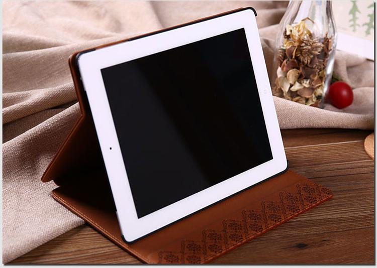 送料無料!ipad mini4 ケース ipad mini4 カバー アイパッドミニ4 ケース 手帳型 スタンドタイプ 復古調 レザー 軽量 革 段階調整可能 スリープ機能付き