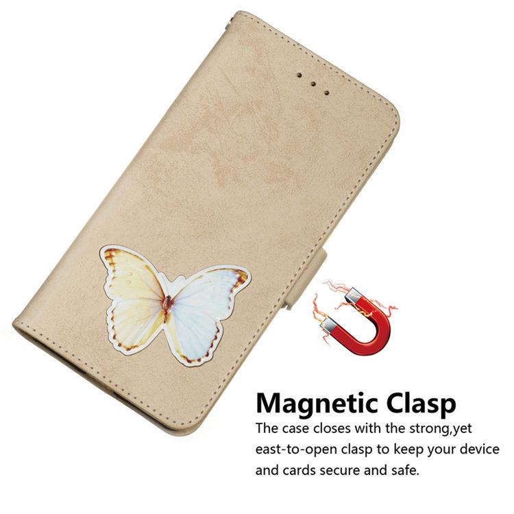 送料無料 Samsung Galaxy S10 ケース ギャラクシー s10 ケース サンスム 6.1インチ SCV41 SC-03L docomo au 手帳型ケース カード収納あり ストラップ付き キャラクター ちょう かわいい