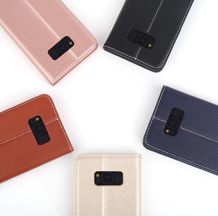 送料無料!ガラスフィルム付き!Samsung Galaxy S8 ケース ギャラクシー S8 ケース SC-02J/SCV36 docomo au サンスム スマホケース 手帳型 カード収納 ソフト 本革