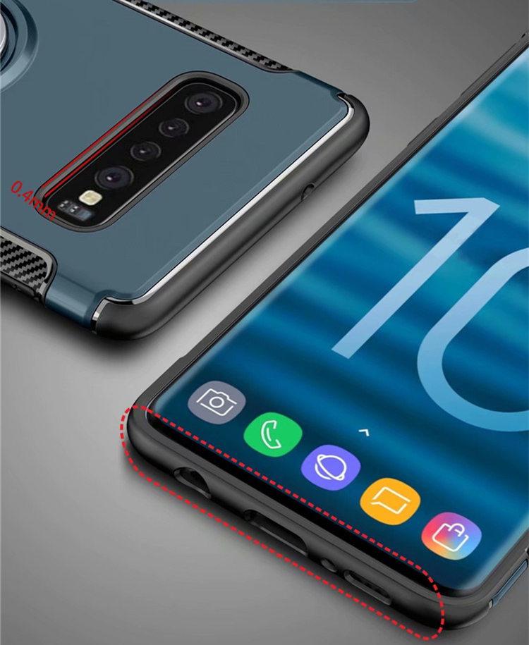 送料無料 Samsung Galaxy S10 ケース ギャラクシー s10 ケース サンスム 6.1インチ SCV41 SC-03L docomo au スマホケース 背面カバー 鉄シート内蔵 リングスタンドあり 便利