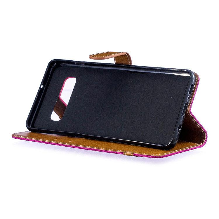 送料無料 Samsung Galaxy S10 ケース ギャラクシー s10 ケース サンスム 6.1インチ SCV41 SC-03L docomo au スマホケース 保護カバー デニム柄手帳型 カード収納 人気