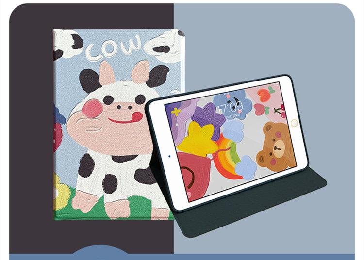 送料無料 2020年発売 iPad Air4 ケース 10.9インチ iPad Air(第4世代)ケース アイパッド エア4 カバー タブレットPC 手帳型 PUレザー ソフトカバー オートスリープ機能付き 牛