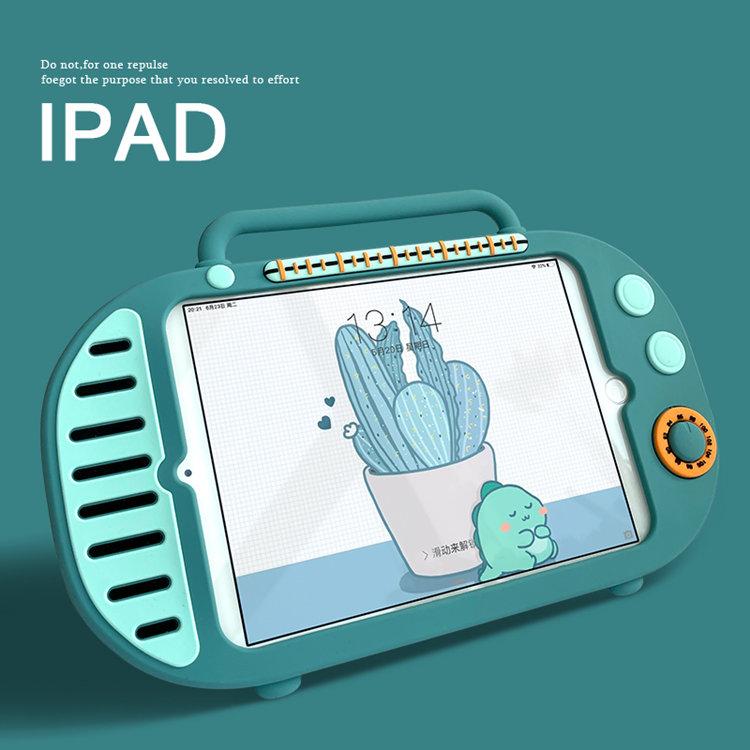 送料無料 2020年発売 iPad Air4 ケース 10.9インチ iPad Air(第4世代)ケース アイパッド エア4 カバー タブレットPC 手提げケース シリコン スタンドタイプ 耐衝撃