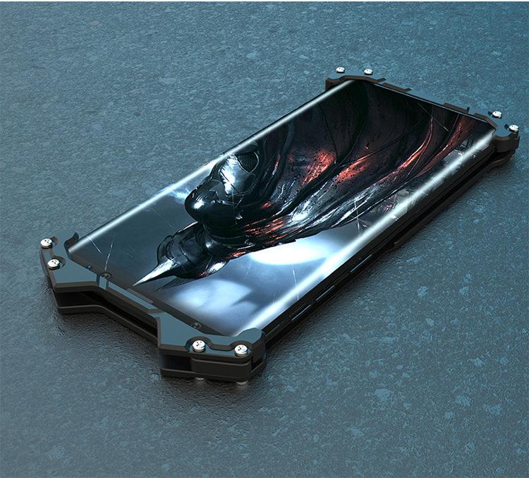 Samsung Galaxy S9Samsung Galaxy S9 ケース ギャラクシー S9 ケース SC-02K/SCV38 docomo au サンスム スマホケース  保護カバー 金属ケース チョウかっこいい