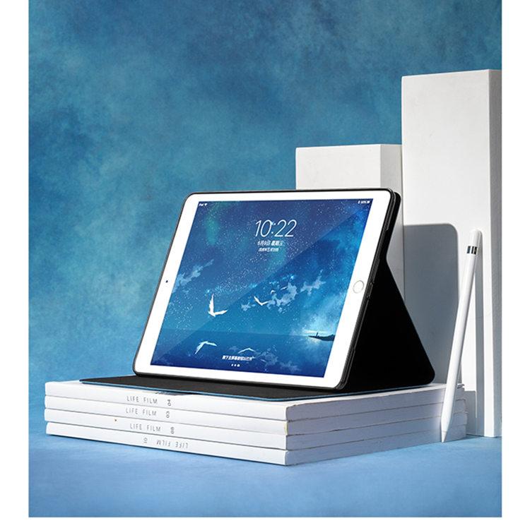 送料無料 2020年発売 iPadAir4 ケース 10.9インチ iPad Air(第4世代)ケース アイパッド エア4 カバー タブレットPC  手帳型 オートスリープ機能付き 3D 刺繍 ヘラジカ