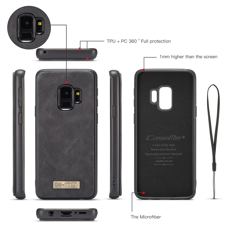 Samsung Galaxy S9 ケース ギャラクシー S9 ケース SC-02K/SCV38 docomo au サンスム スマホケース 保護カバー 手帳型 財布 多数カード収納 便利 取り外せる