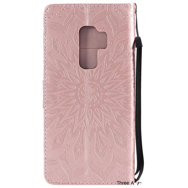 Samsung Galaxy S9Samsung Galaxy S9 ケース ギャラクシー S9 ケース SC-02K/SCV38 docomo au サンスム スマホケース 手帳型 カード収納 PU ストラップ付き