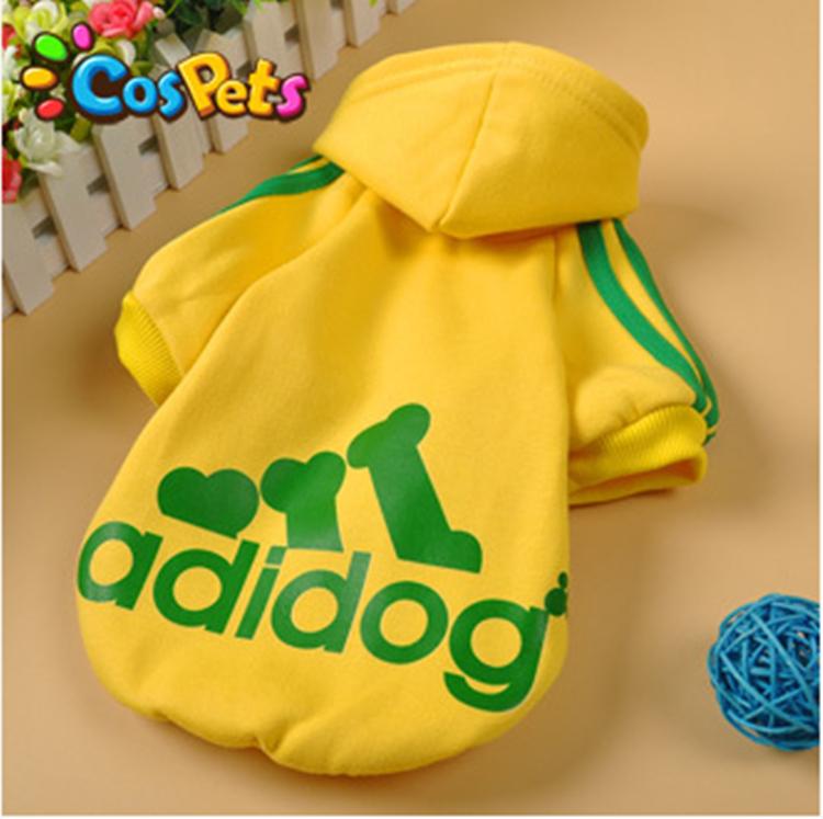【adidog/アディドッグ】もこもこあったか裏起毛フードパーカー/秋冬モデル/S-XL/小型犬〜中型犬/アディドック【犬服】【ドッグウェア】【ペット服】