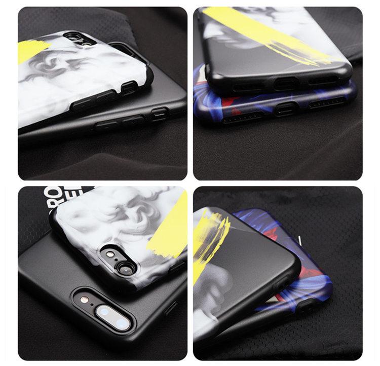 iPhone XS ケース iPhone X ケース アイフォンX カバー Apple 5.8インチ スマホケース 背面カバー シリカゲルケース 個性