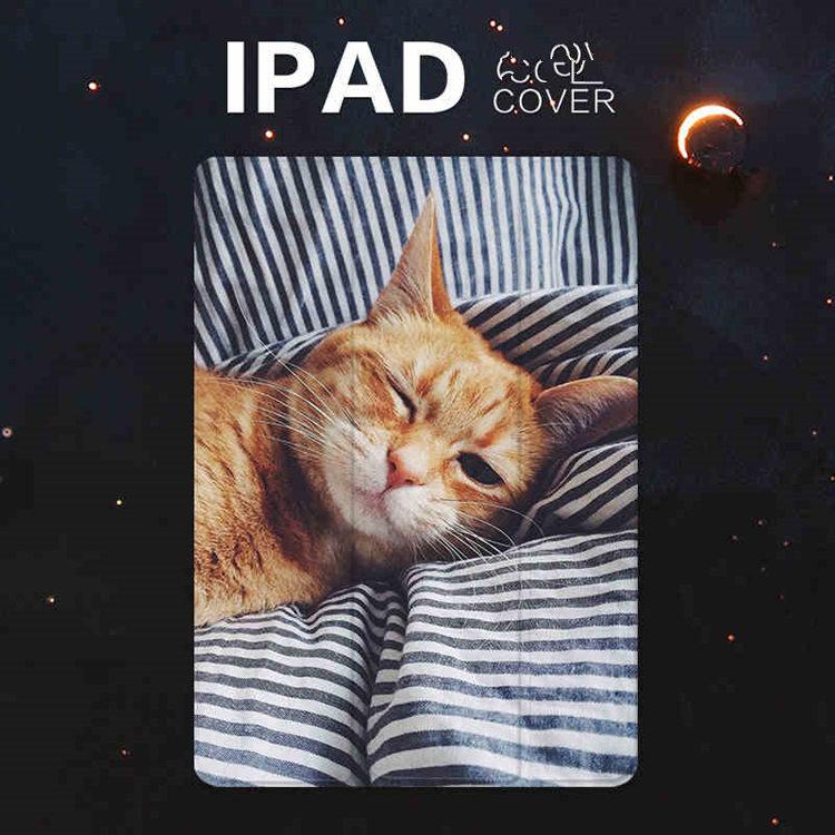 送料無料!iPad Pro 10.5 ケース ipad pro 10.5 カバー アイパッドプロ ケース (10.5インチ)手帳型 タブレットPC スタンドタイプ iPad Pro 10.5インチ用カバー 手帳型 オートスリープ機能付き 軽量 極薄 猫