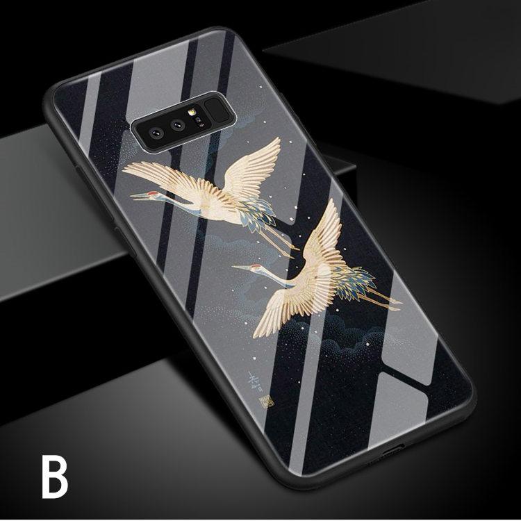 送料無料!Galaxy Note8 ケース ギャラクシーノートエイト ケース SC-01K/SCV37 docomo au サンスム スマホケース 背面カバー  TPU ガラスケース 個性