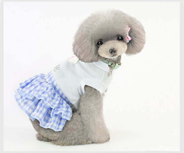 犬の服 ワンピース スカート LOVE 春 夏 犬ウェア dog服 ペット ペットグッズ コスチューム