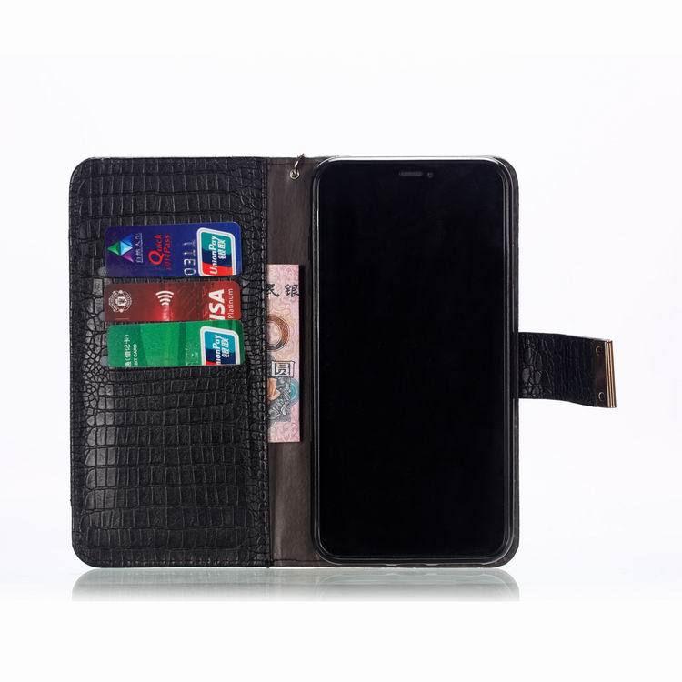 送料無料 Samsung Galaxy S10 ケース ギャラクシー s10 ケース サンスム 6.1インチ SCV41 SC-03L docomo au サンスム 手帳型 カード収納 ストラップ付き ソフトワニ革風