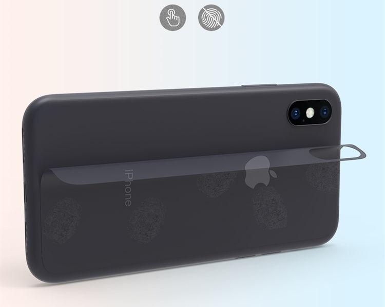 iPhone �S ケース iPhone X ケース アイフォンX カバー Apple 5.8インチ スクラブケース 半透明ケース TPUソフト 簡単
