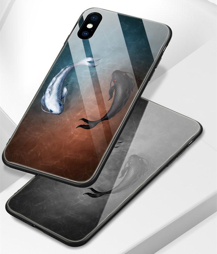 送料無料!Samsung Galaxy S10+ ケース Galaxy S10 Plus ケース サンスム  6.4インチ au SCV42 docomo SC-04L  スマホケース 背面カバー  TPU ガラスケース さかな
