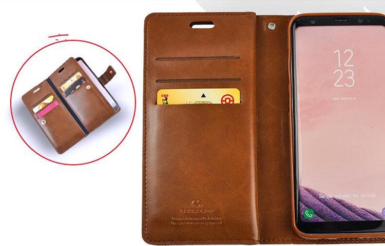 送料無料!Samsung Galaxy S8+ ケース Galaxy S8 Plus ケース ギャラクシー S8 プラスケース SC-03J/SCV35 docomo au サンスム スマホケース 保護カバー  手帳型 財布 多数カード収納 単色 ストラップ付き
