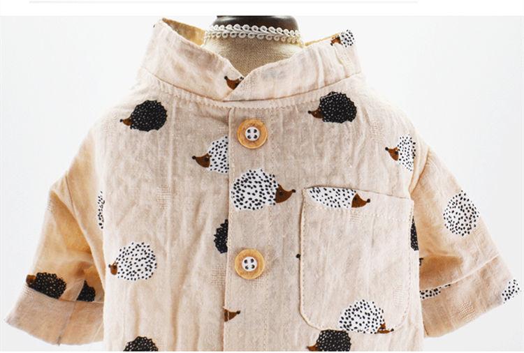犬の服 長シャツ ペット洋服 トップス Tシャツ ドッグウエア ペット用品 ペット服 ペットグッズ 春 夏 犬服