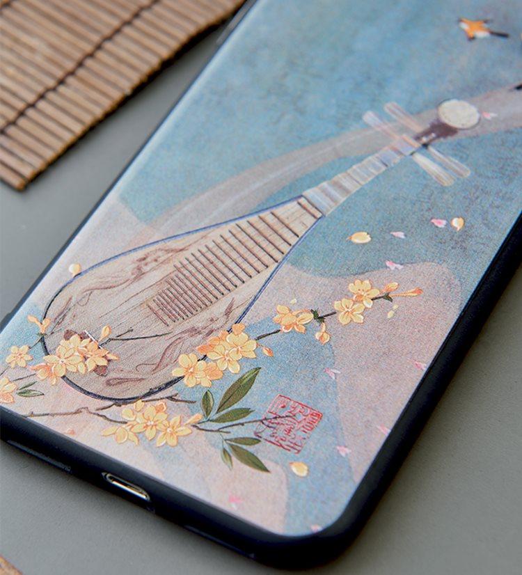 送料無料!iPhone 11 Pro Maxケース iPhone11 pro maxカバー アイフォン11 プロ マックス ケース Apple 6.5インチ スマホケース 保護カバー 背面カバー アクセサリー 琵琶 中国風 おしゃれ