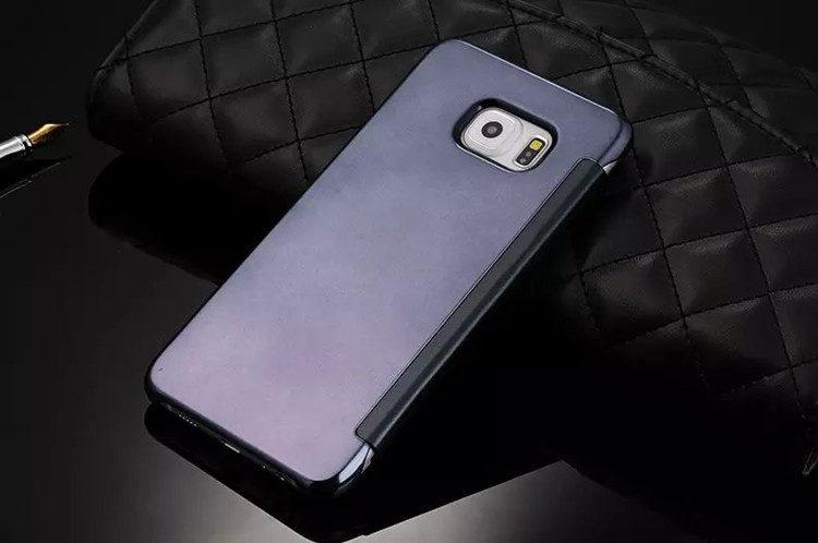 送料無料!Samsung Galaxy S6 edgeケース ギャラクシーS6 エッジ ケース SC-04G/SCV31 docomo au サンスム 保護カバー 手帳型 横開き 透明 薄型