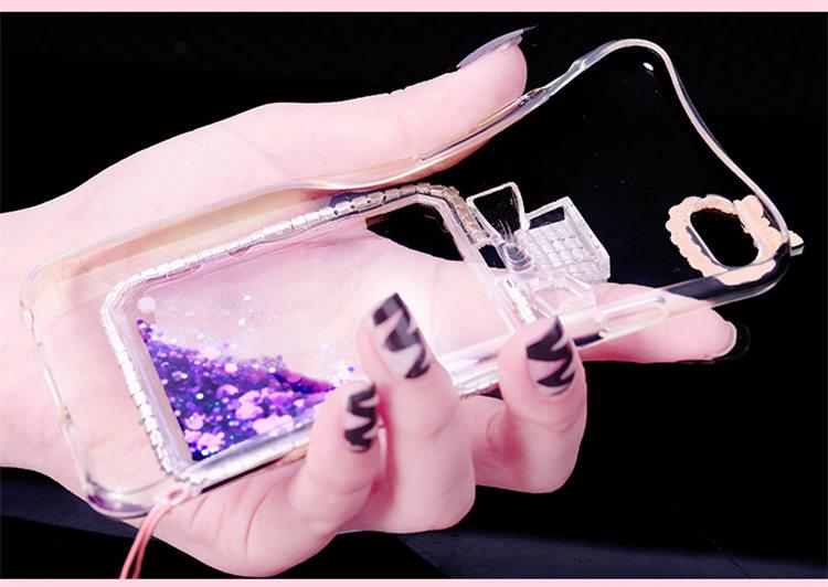 送料無料!iphone8 plusケース アイフォン8 プラス カバー iphone7 plus ケース iphone7 plus カバー アイフォン7 プラス ケース アイフォン7 プラス カバー Apple 5.5インチ スマホケース 保護カバー  TPU ソフトクリアケース ストラップ付き きらきら ストーン 流れる星 お