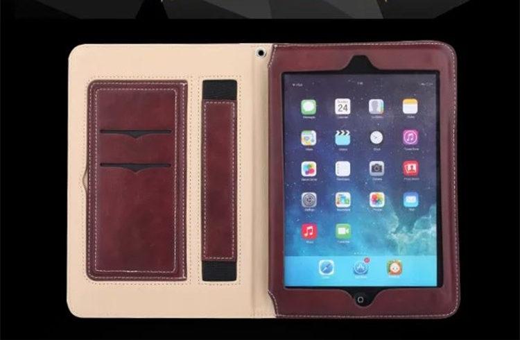 送料無料!新型 9.7インチ ipad 2018 ケース ipad 2017ケース アイパット カバー(9.7インチ) タブレットPC 手帳型 オートスリープ機能付き ハンドストラップ付き ストラップ付き カード収納 ビジネス 実用性抜群