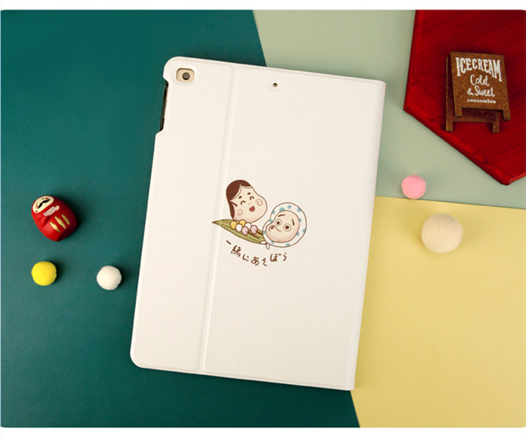 送料無料 2020年発売 iPad Air4 ケース 10.9インチ iPad Air(第4世代)ケース アイパッド エア4 カバー タブレットPC 手帳型 オードスリーブ機能 段階調整 保護カバー 耐衝撃ケース かわいい
