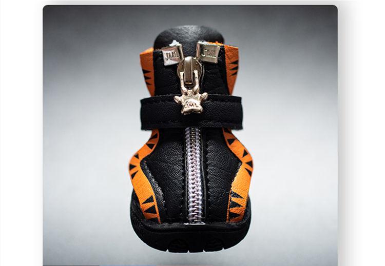 送料無料 犬の靴 スニーカー 運動靴 保護シューズ カジュアルシューズ ペットグッズ ペット用 おしゃれペット お出掛け 4ピース