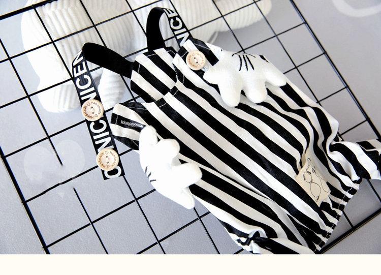送料無料 犬の服 ストライプ柄サロペット ロンパース パンツつなぎ ペット用品 petbaby 犬洋服 犬ウェア おしゃれペット ドッグウエア ワンちゃん服