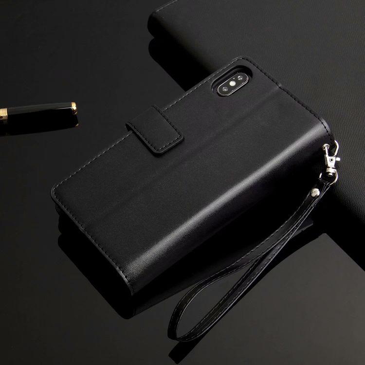 iPhone �S Maxケース iPhone XS Max ケース アイフォン テンエス マックス カバー 保護カバー 手帳型 財布 多数カード収納 ストラップ付き