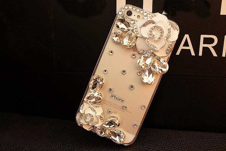送料無料 iPhoneSE2 ケース iPhone SE 第2世代 iPhoneSE2020 ケース アイフォンカバー スマホケース 保護カバー 背面カバー プラスチック ラインストーン クリアケース 3D デコ花 人気