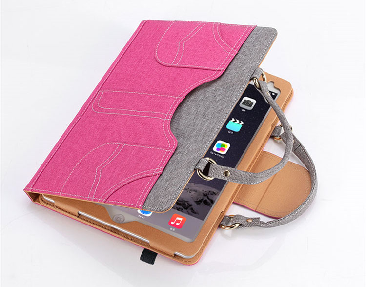 送料無料!iPad Pro 9.7 ケース ipad pro ケース ipad pro カバー アイパッドプロ ケース (9.7インチ)手帳型 タブレットPC スタンドタイプ iPad Pro 9.7インチ用カバー 手帳型 手提げケース タッチペンホルダ付 カード収納 チェーン付き