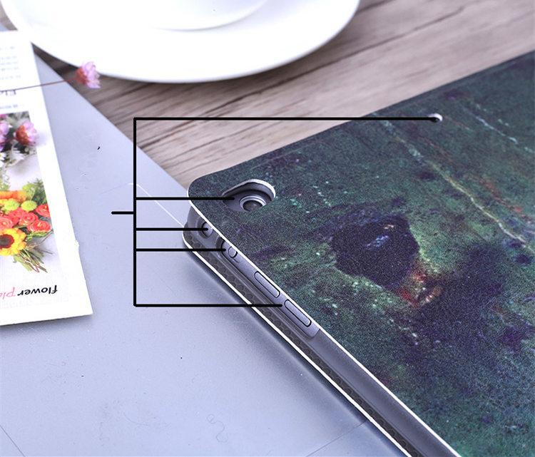 送料無料!ipad mini4 ケース ipad mini4 カバー アイパッドミニ4 ケース タブレットPC カバー 手帳型 段階調整可能  オートスリープ機能付き ヘラジカ