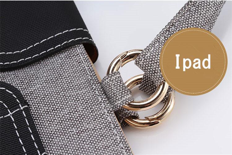 送料無料 iPad Air3 ケース iPad Air 10.5インチ 2019 ケース iPad Air 10.5インチ 第3世代 ケース アイパッド カバー タブレットPC 手帳型 手提げケース タッチペンホルダ付 カード収納 チェーン付き