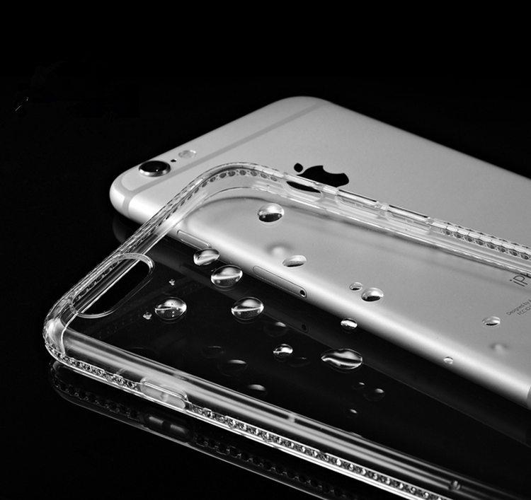 送料無料!ガラスフィルム付き!iphone8 plusケース アイフォン8 プラス カバー iphone7 plus ケース iphone7 plus カバー アイフォン7 プラス ケース アイフォン7 プラス カバー Apple 5.5インチ スマホケース 保護カバー  TPUソフトケース ストーン キラキラ おしゃれ