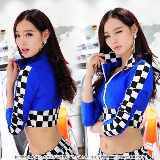 レースクイーン コスプレ キャンギャル SEXY 長袖 セットアップ セクシー コスチューム