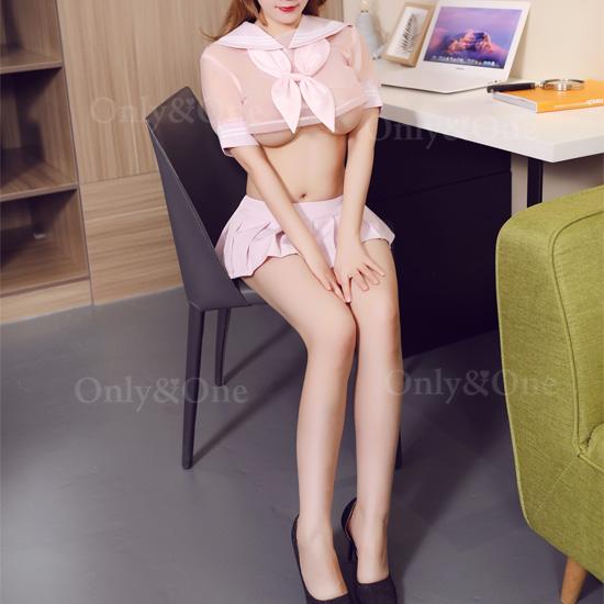 セーラー服 ショート丈スケ セクシーコスプレ ピンク 悩殺制服 コスチューム エロ可愛い衣装