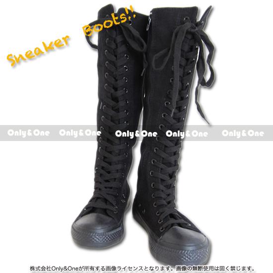 【訳あり品】スニーカーブーツ ブーツ スニーカー 23.5cm