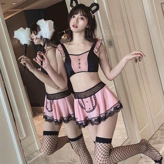 メイド コスプレ 猫コスプレ コスプレ衣装 セパレート 猫メイド アイテム豊富