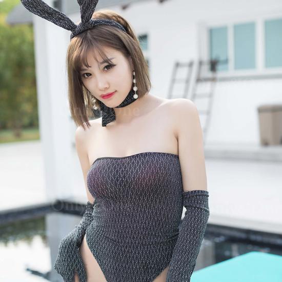 バニーガール セクシーコスプレ ウサギ アニマルコスチューム衣装 SEXY