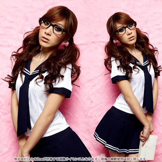 セーラー服 コスプレ 初心者さんでも手軽に楽しめる定番のキュートな女子高生JK制服