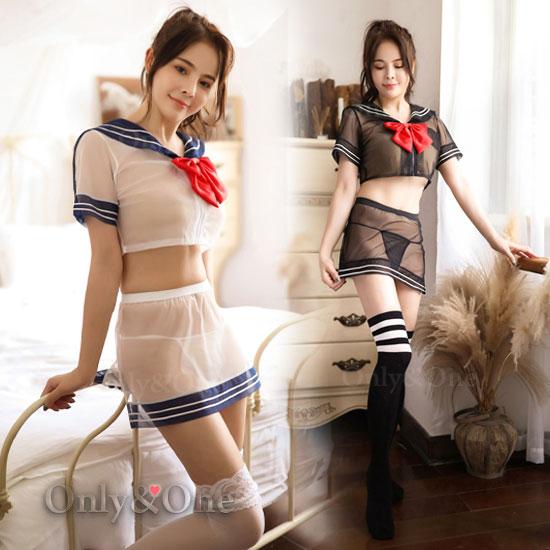 女子高生制服タイプのコスプレランジェリー