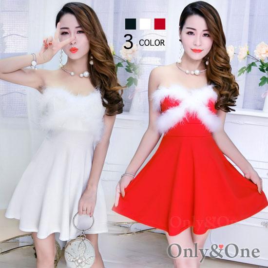 サンタ ボディコン ワンピース フレアドレス サンタ コスプレ コスチューム サンタ衣装 3カラー