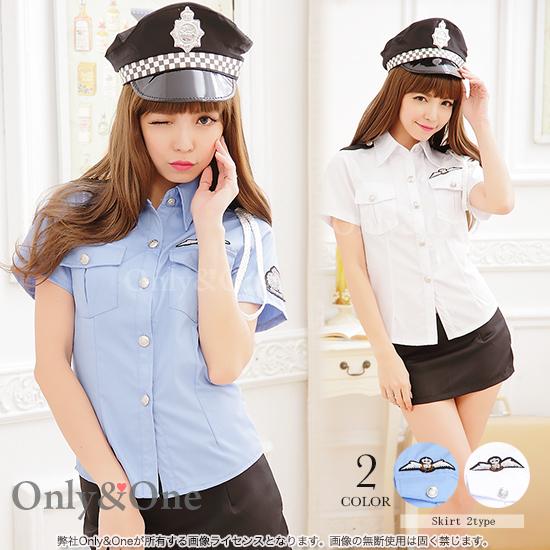 ポリスコスプレ 交通婦人警官コスチューム衣装
