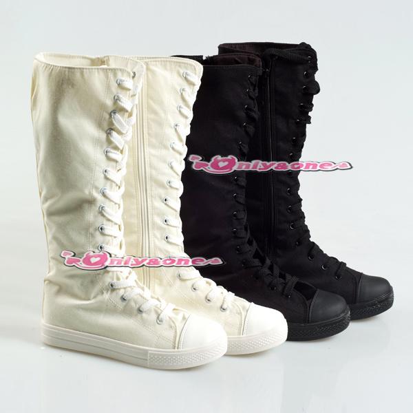 【訳あり品】スニーカーブーツ ブーツ スニーカー white 24.5