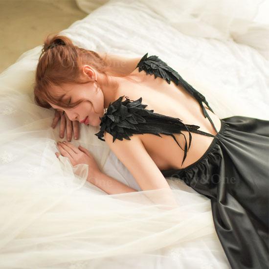 セクシーランジェリー ベビードール 天使の羽 大人のランジェリー