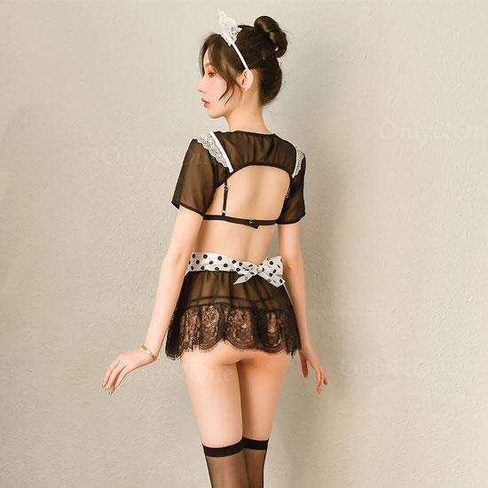 メイド服 セクシーランジェリー エロ コスプレ レース コスチューム