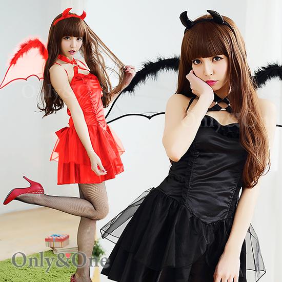 デビルコスプレ ブラック悪魔 小悪魔 ハロウィンコスチューム衣装