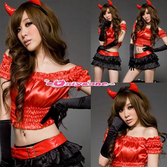 フリルSexy悪魔ハロウィンコスチューム50
